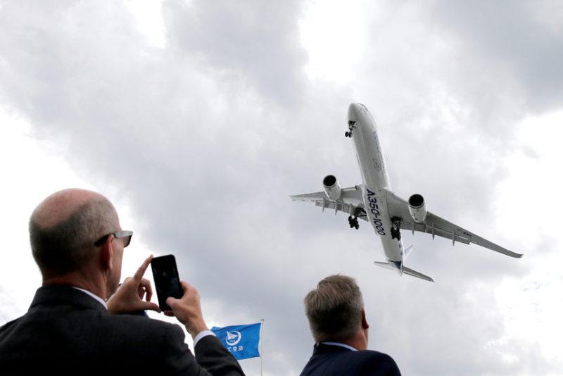 53-й Международный авиасалон в Ле Бурже