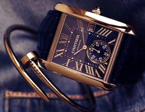 Часы коллекции Cartier Tank