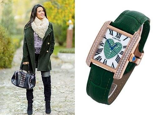 Часы из коллекции Cartier