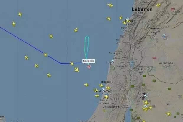 Аварийная посадка самолета в Израиле