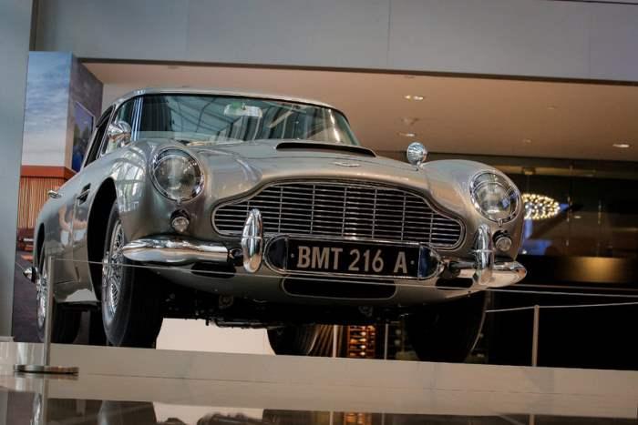 Автомобиль Джеймса Бонда 1965 года