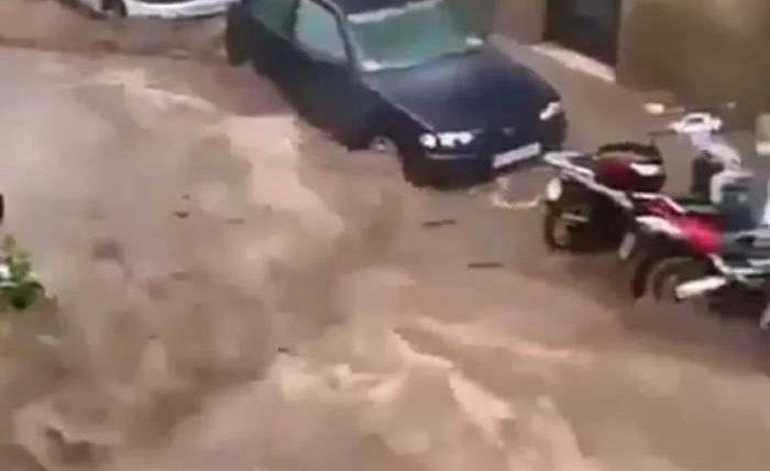 Барселона наводнение
