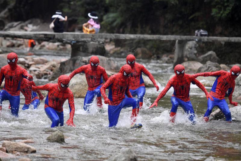 Бегущие Люди-пауки
