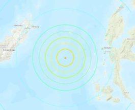 Индонезия землетрясение