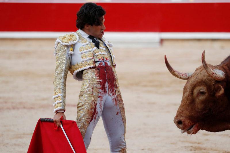Испанский матадор Альберто Лопес Саймон