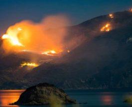 Италия пожары