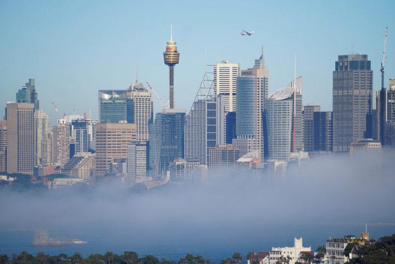 Пейзаж из Сиднея, Австралия.