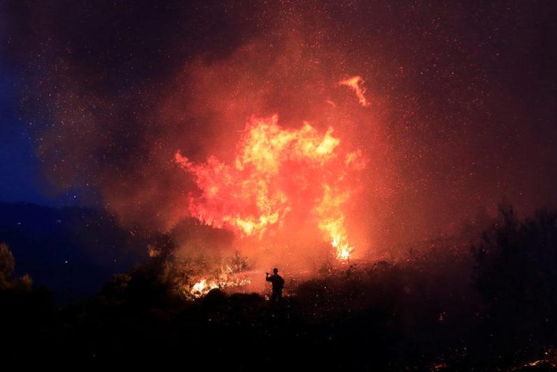 Сезон лесных пожаров