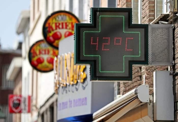 Термометр в Брюсселе