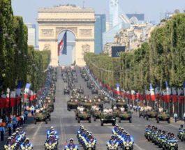 Франция парад