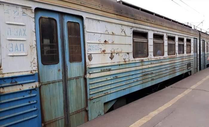 Электричка киев-казатин