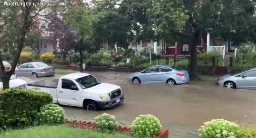 вашингтон затопило