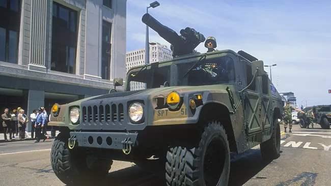 военный парад в вашингтоне