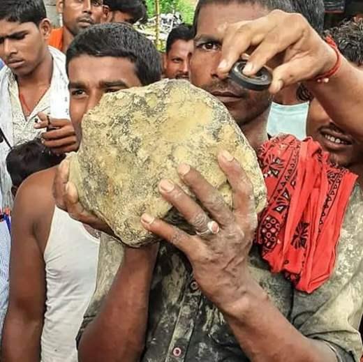 индия метеорит