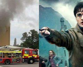 пожар студия гарри поттера