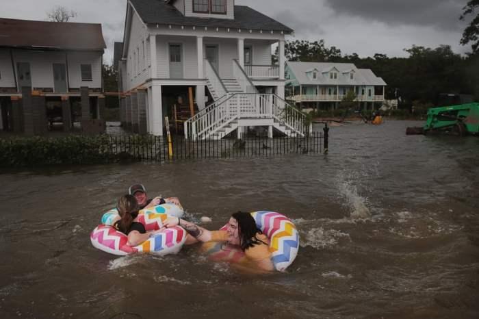 после урагана Барри