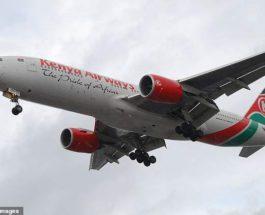 самолет труп Лондон