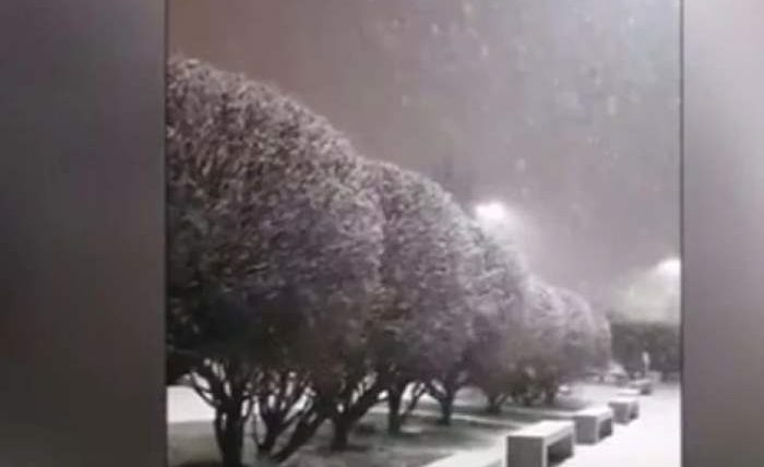 снег аргентина