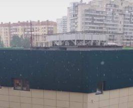 снег в питере