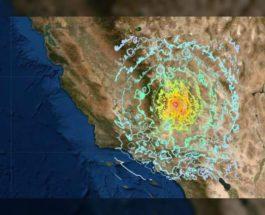 сша землетрясение