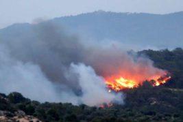 хорватия пожар