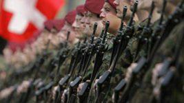 швейцарские солдаты