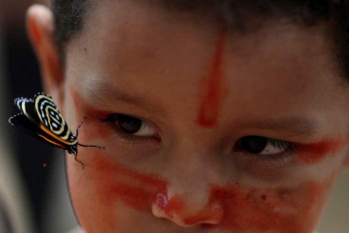 Мальчик из племени Мура