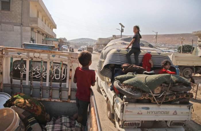 Перемещенные сирийцы