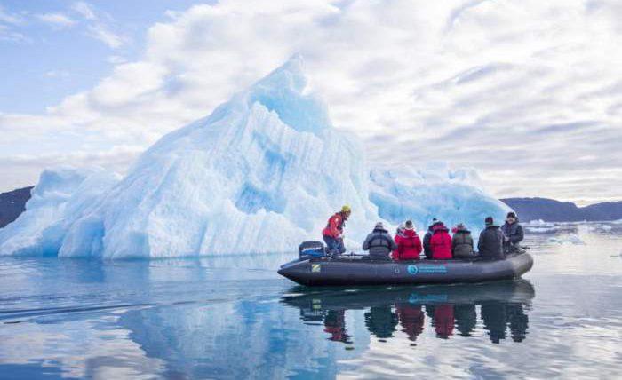 гренландия ледники