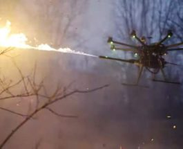 дрон-огнемет