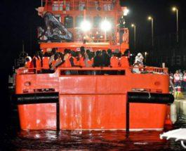 корабль мигранты