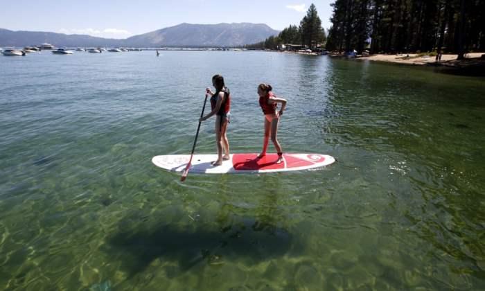 на озере Тахо