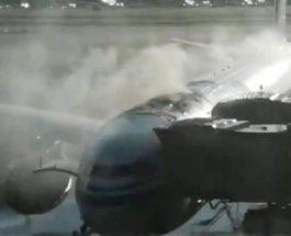пожар Air China