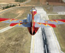 самолет испания
