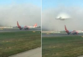 самолет их тумана
