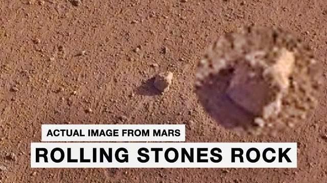 Rolling Stones Rock Mars