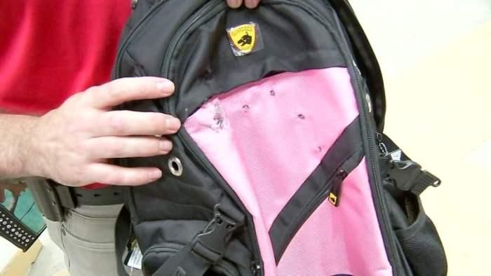 бронированный рюкзак