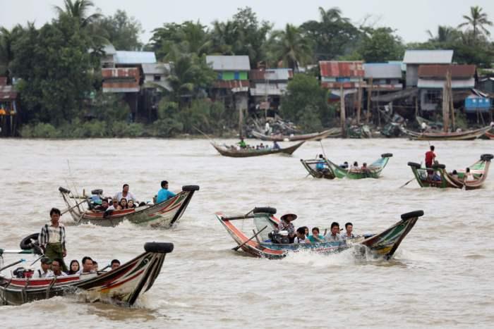 Кадр из Янгона