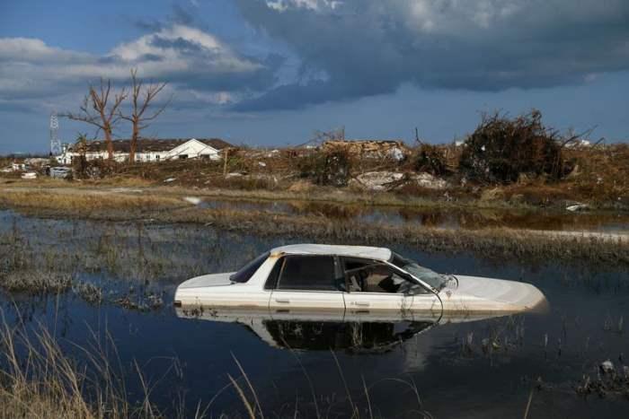 Затопленный автомобиль