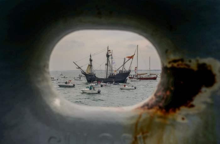 Копия корабля Фердинанда Магеллана