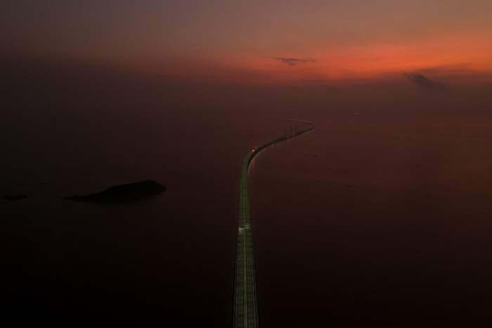 Мост Гонконг-Чжухай-Макао