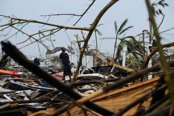 Последствия урагана Дориан на Багамах.