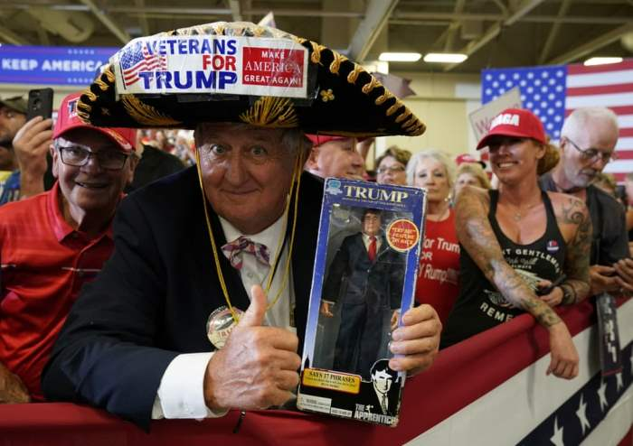 Сторонники Дональда Трампа