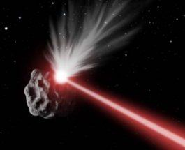 лазер астероид