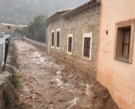 майорка наводнение