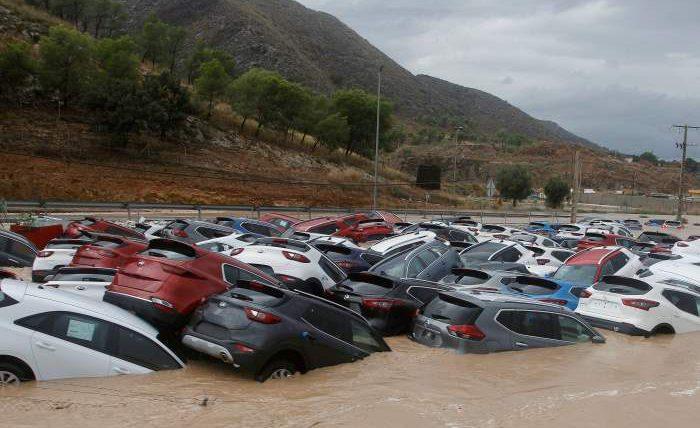 наводнение испания