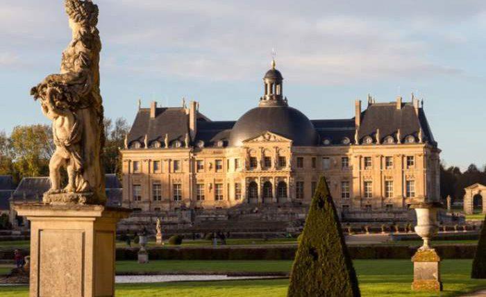 франция замок