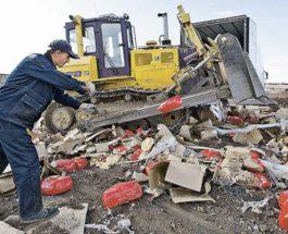 В Германии уничтожат 320 тонн колбас