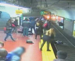 Инцидент на станции метро