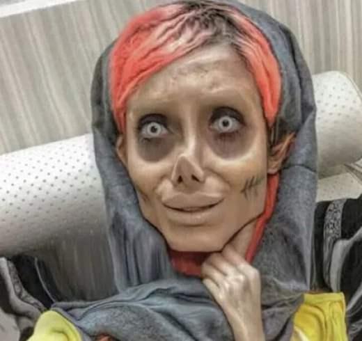 Иранская копия Анджелины Джоли